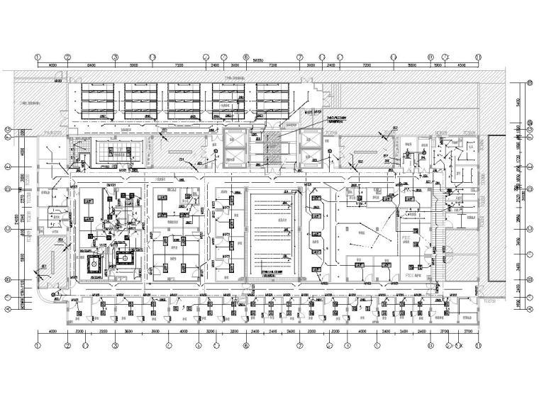 福建某三甲医院门诊楼装修工程电气施工图