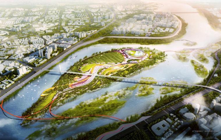 [四川]南充绿肺滨水湿地公园景观方案设计