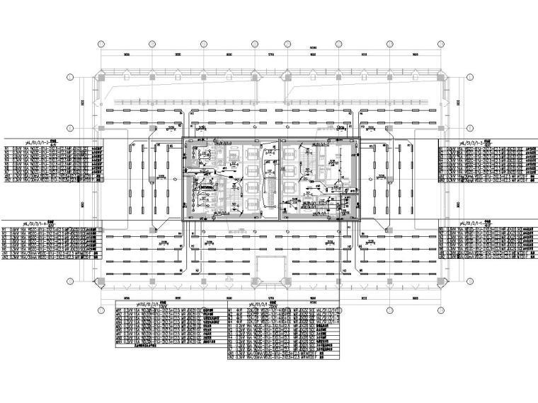 [上海]11万平地块项目办公楼电气施工图