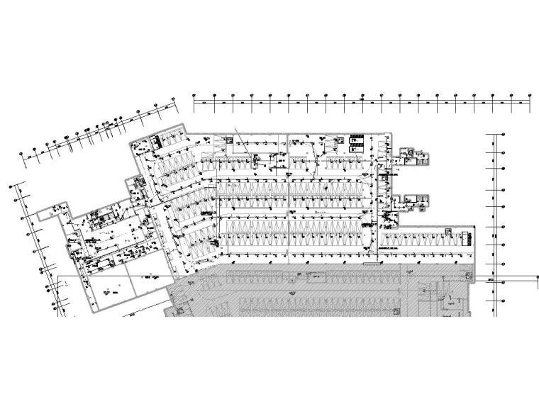 [重庆]住宅小区地下车库电气施工图