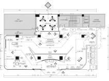 [广州]供电局客服中心742㎡创意展厅施工图