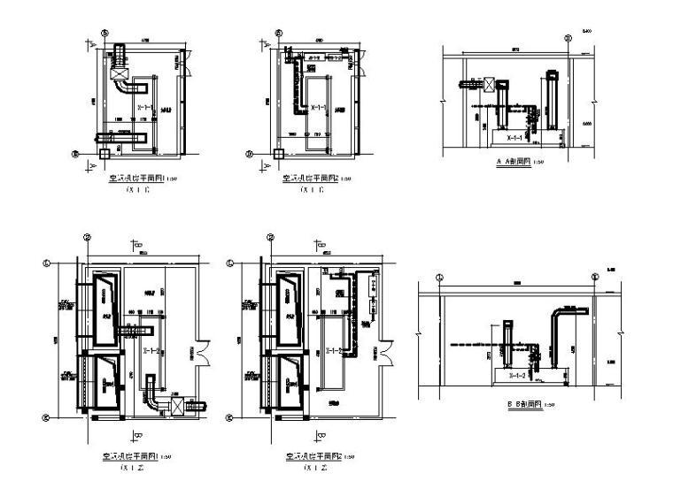 空调机房详图(十)