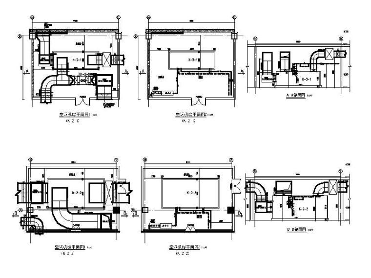 空调机房详图(六)