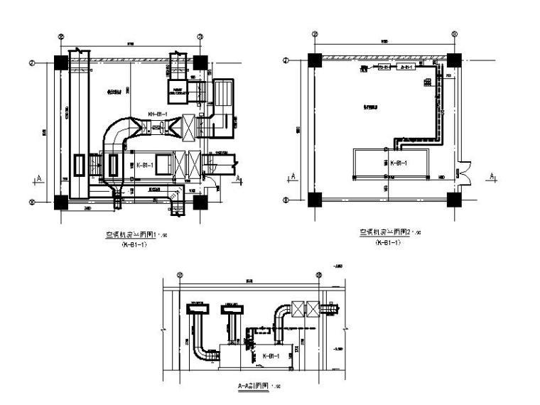 空调机房详图(一)