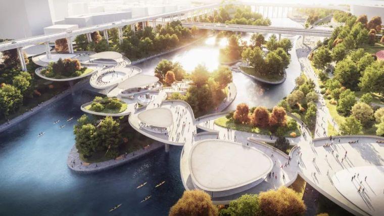 地坪漆与交通设施资料下载-奇思妙想景观桥,真疯狂!