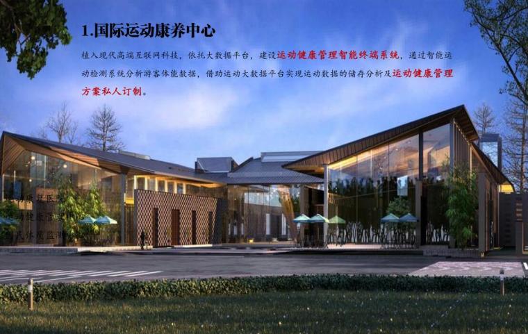 [江苏]国际休闲运动旅游景观方案设计-国际运动康养中心