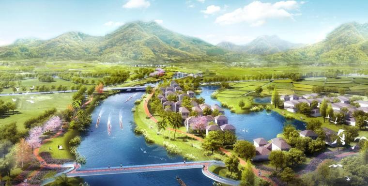 [江苏]国际休闲运动旅游景观方案设计-田园牧歌