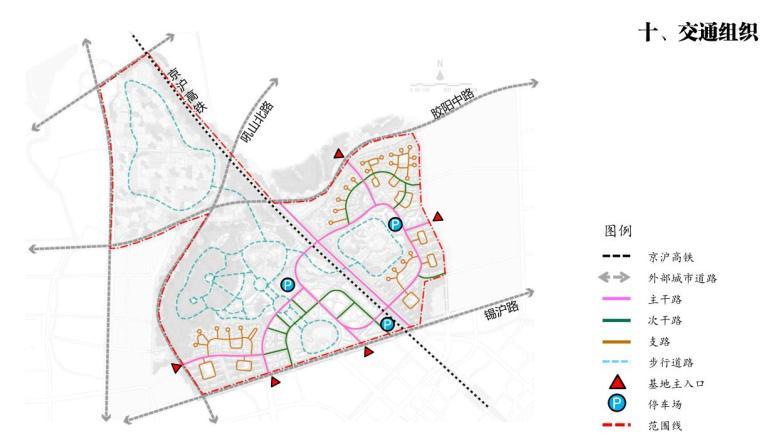 [江苏]国际休闲运动旅游景观方案设计-交通组织