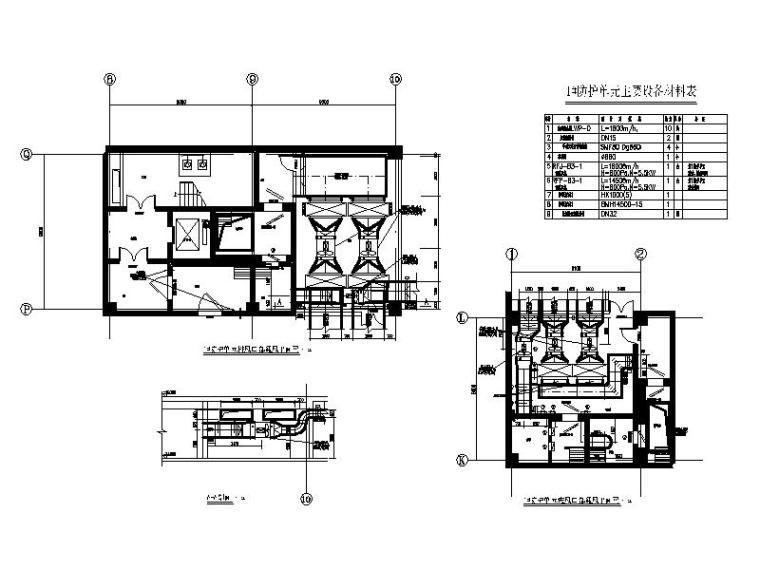 [北京]高层建筑地下室人防通风设计施工图