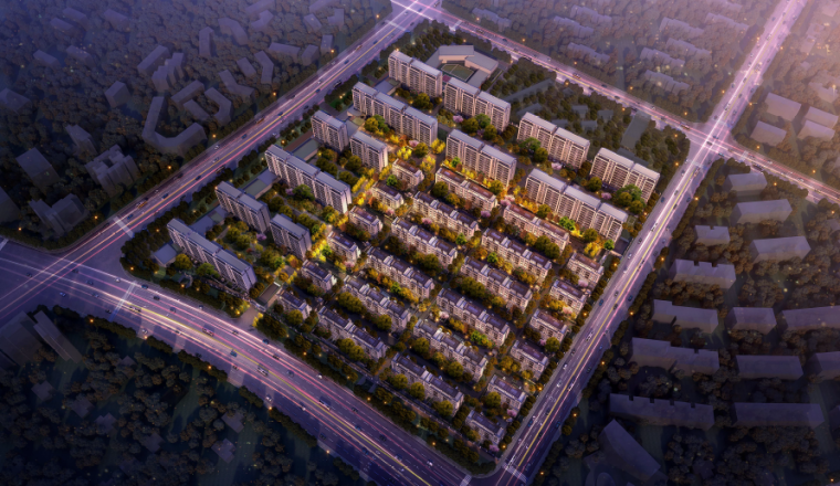 [江苏]南京精品豪宅居住区设计方案