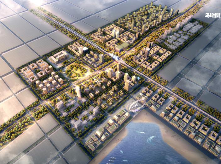 天津港东疆商务区城市规划设计文本