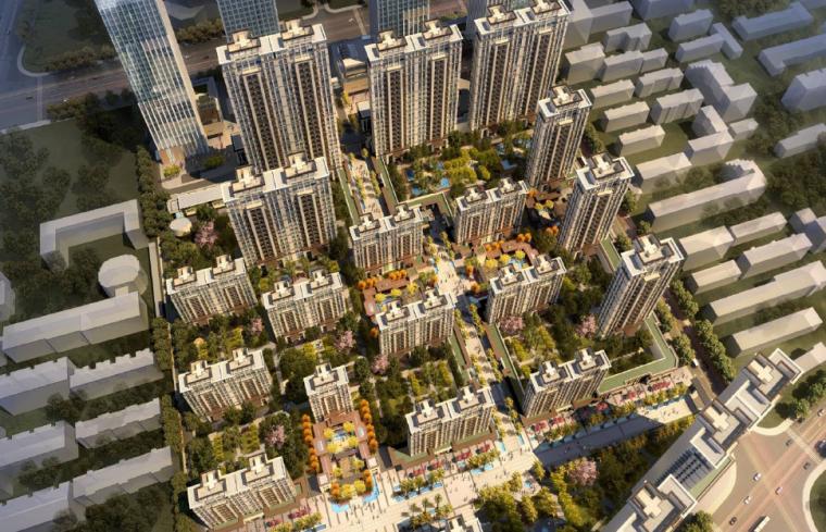 [山东]济南高品质尊贵住宅区景观设计方案