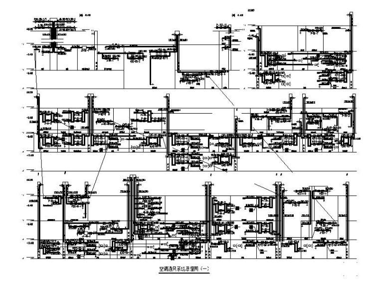 空调通风系统原理图(一)