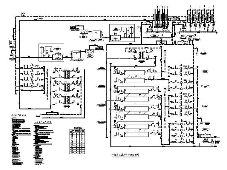 空调冷热源系统控制原理图