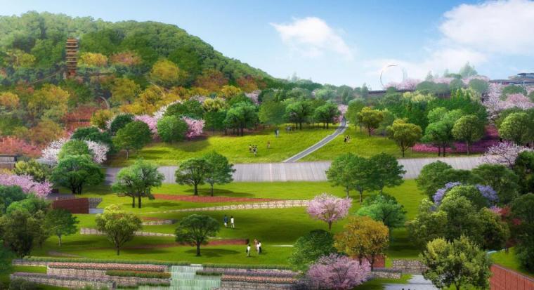 [广州]滨水综合流域整治景观方案设计