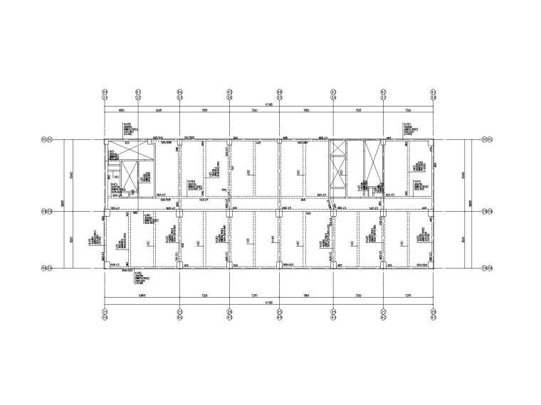 [广东]24层框架剪力墙结构厂房结构施工图
