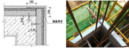 FS外模板的阳角处理
