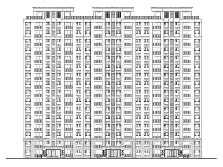 [江苏]多高层住宅及公建配套设计全套施工图