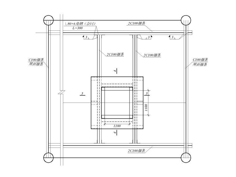 钢网架屋面节点详图合集