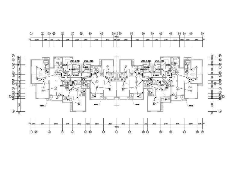 [上海]高层住宅楼电气施工图(强电弱电)