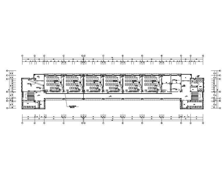 河南5层框架教学楼电气施工图(2017)