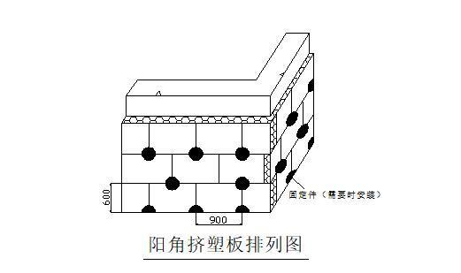 外墙挤塑聚苯乙烯泡沫板保温施工方案