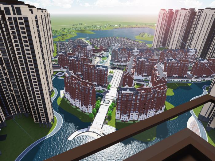 [广东]欧式风格高层住宅建筑投标方案文本