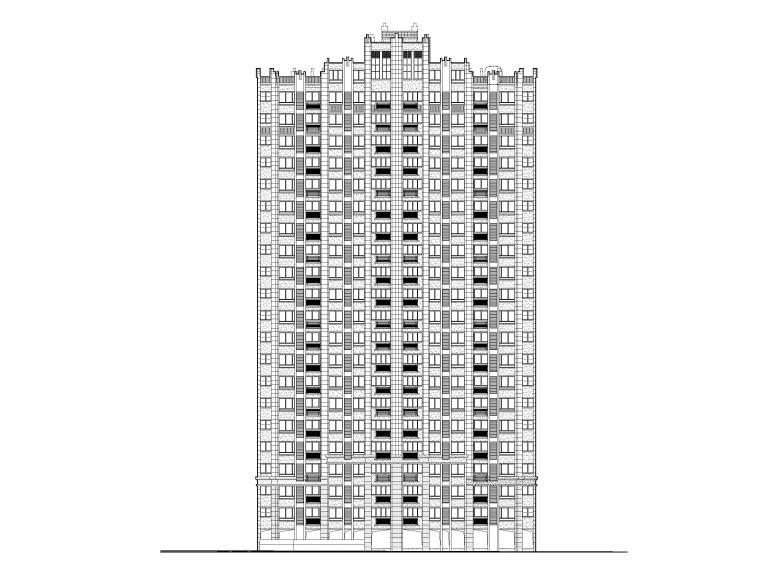 安置房高层住宅及配套建筑施工图(含节能)