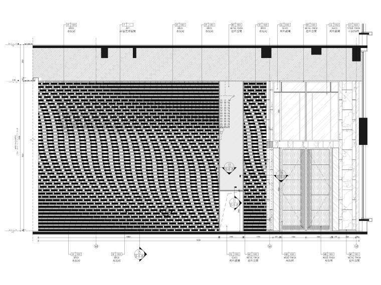 一层大堂立面图2