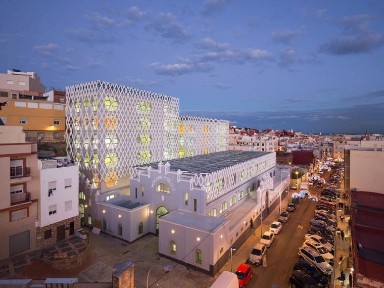 西班牙Melilla老市场改造教育建筑