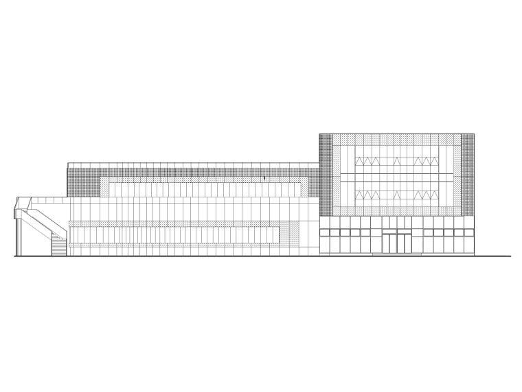 [南京]企业服务中心外立面改造建筑施工图
