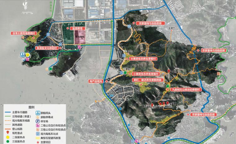 [浙江]台州村镇保护开发区景观设计方案
