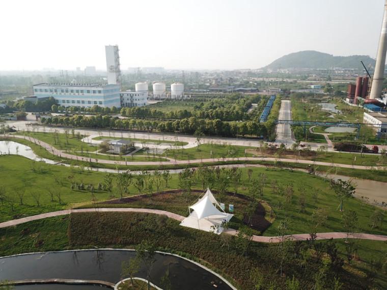 中国宝武集团鄂州钢铁厂湿地公园