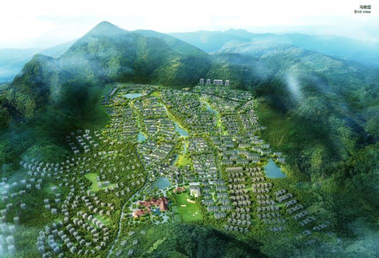 [浙江]杭州山水田园休闲颐养小镇设计方案