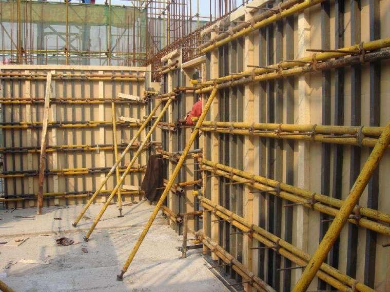 模板工程施工监理要点及验收标准
