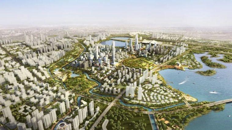 武汉杨春湖高铁商务区总体规划_你好,武汉
