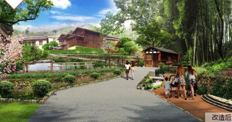 [福建]连城县传统村落保护发展景观设计方案