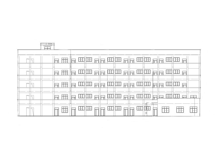 [湖北]五层框架结构小学教学楼建筑施工图