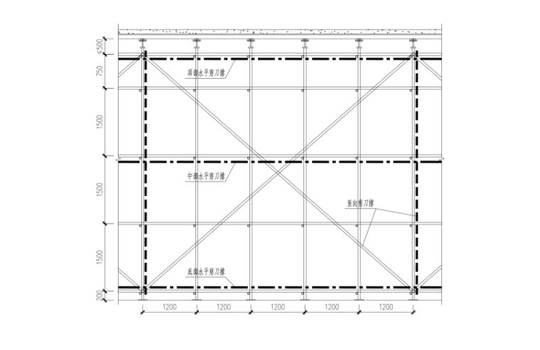 06 板模架构造立面图