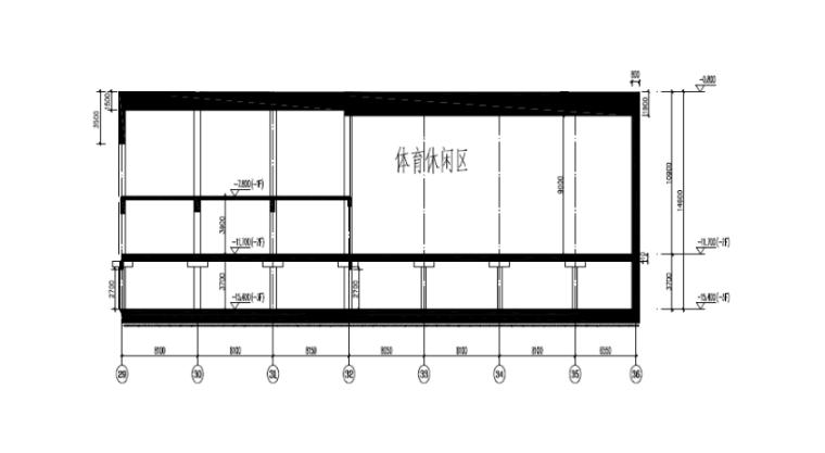 04 大模板区域剖面图