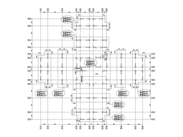 [成都]高层剪力墙结构学生公寓结构施工图