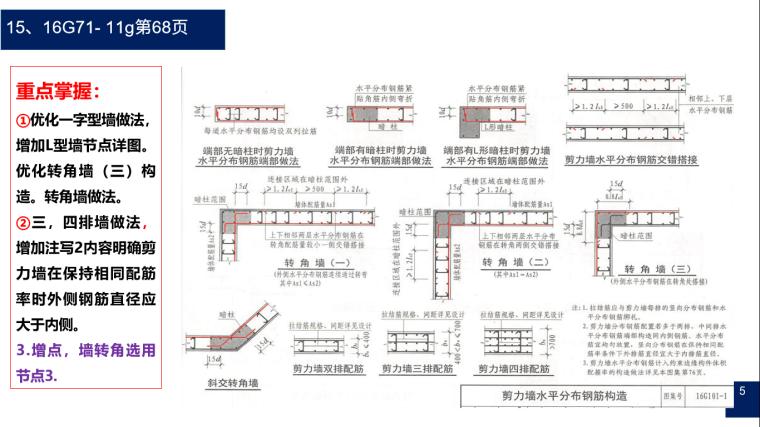 16G-101图集钢筋平法详细解析-05 剪力墙做法