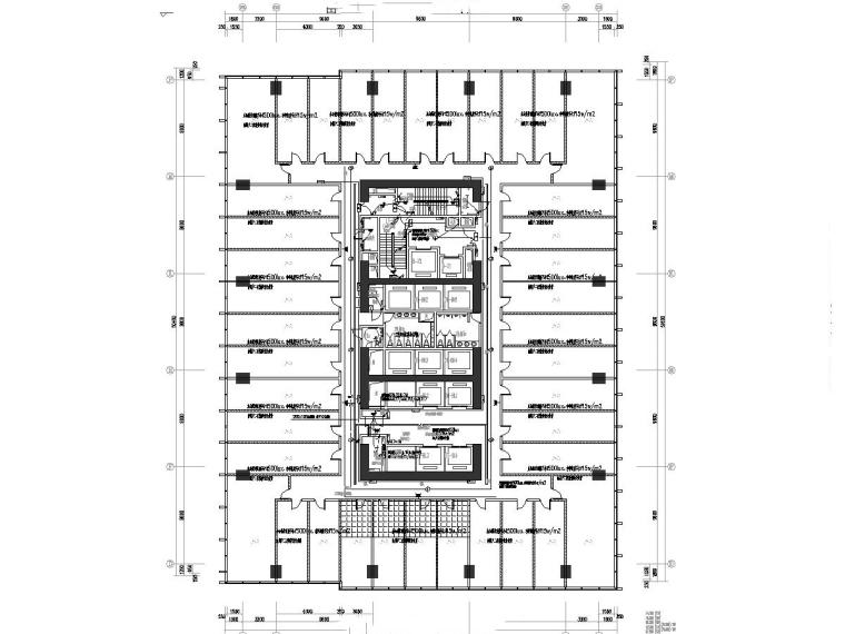 知名大院_安徽7万平办公楼电气施工图