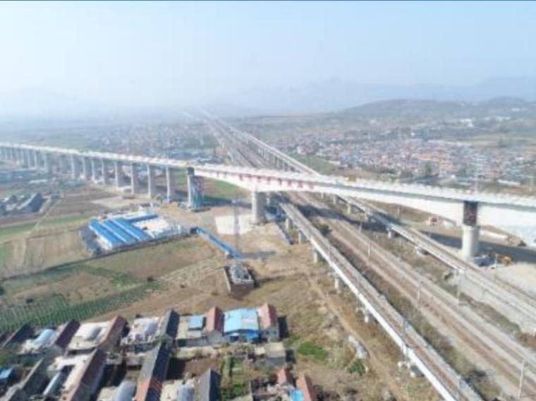 高速铁路双T构转体连续梁施工关键技术应用