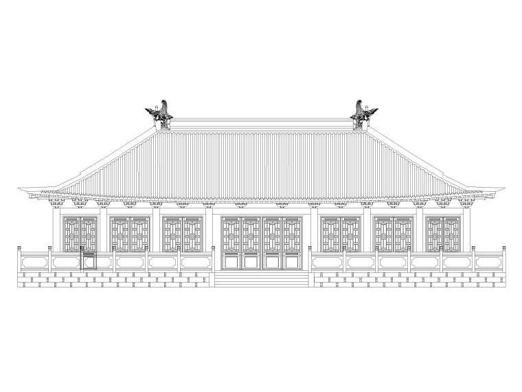公墓园设计建筑施工图(CAD)