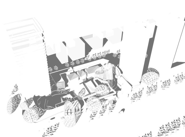 现代风格商业综合体建筑模型设计(附效果图)