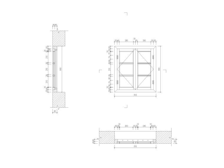 20套古建窗大样详图(CAD)