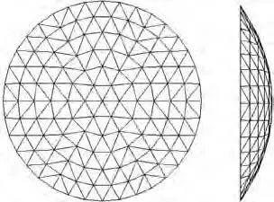 基于构形易损性理论的温室单层球面网壳极限_11