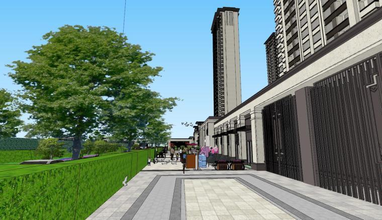 新古典豪宅建筑模型设计 (5)