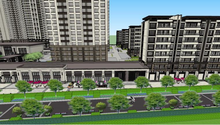 新古典豪宅建筑模型设计 (6)